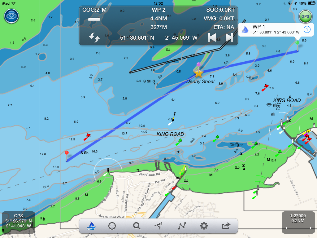 Using an ipad for marine navigation a digital yacht white paper