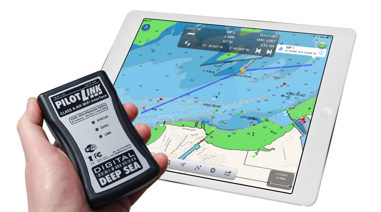 Pilotlink With Navlink Uk App - Nice Solution