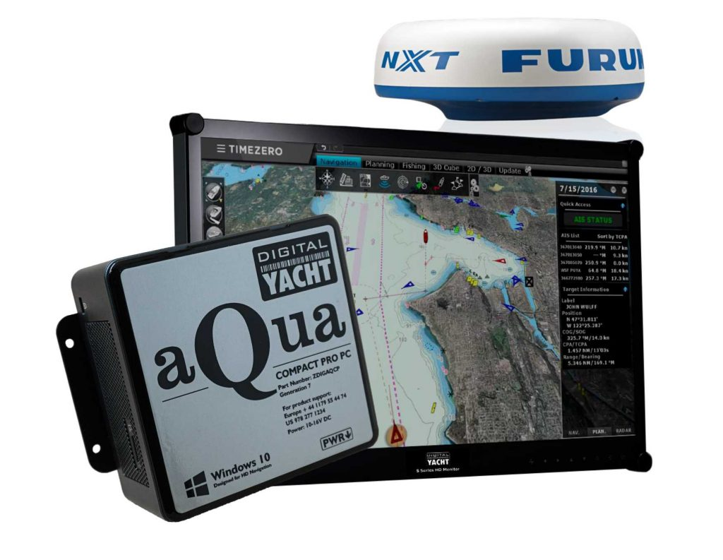 Solution Digital Yacht avec TimeZero et le radar Furuno